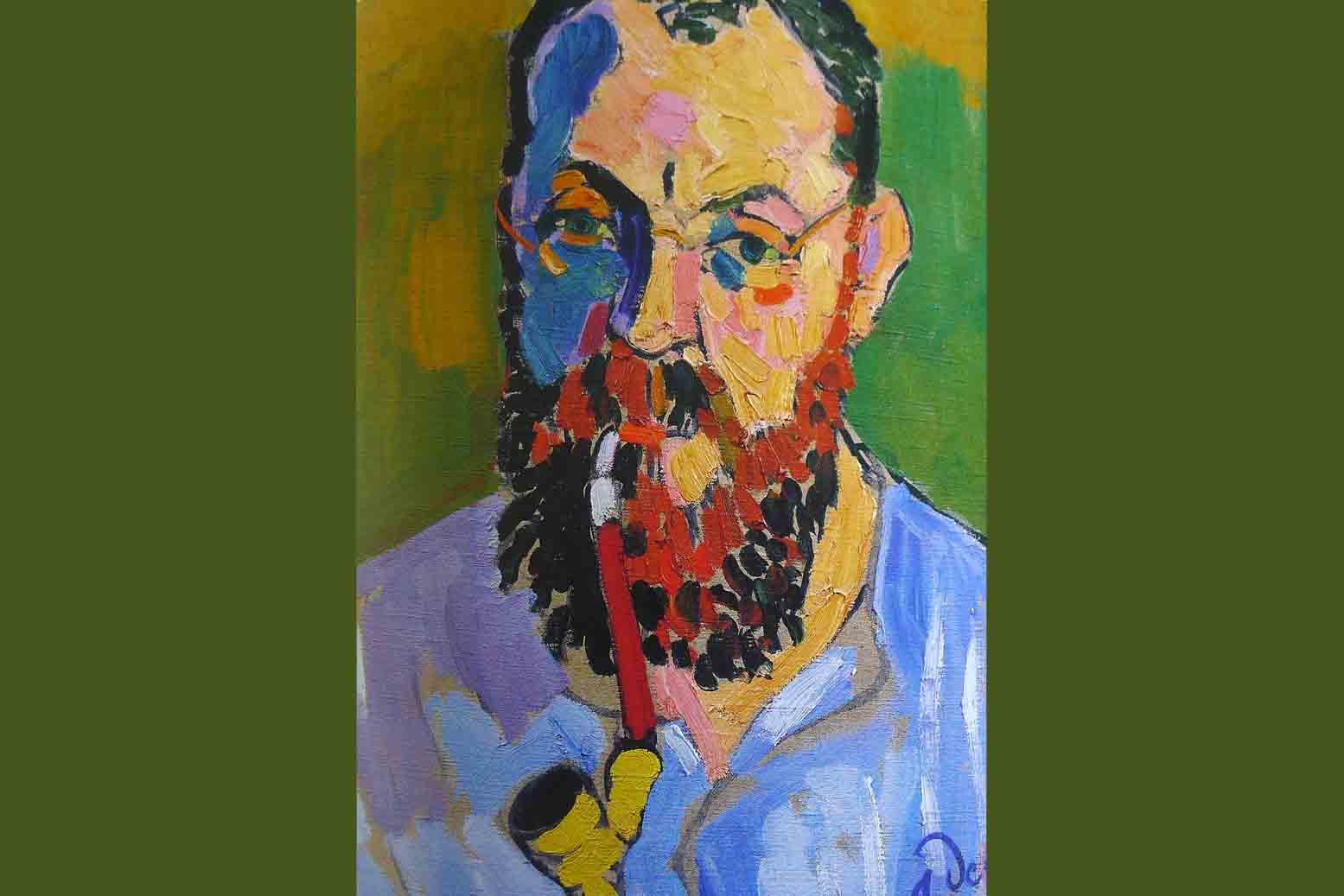 portrait de Matisse par Derain