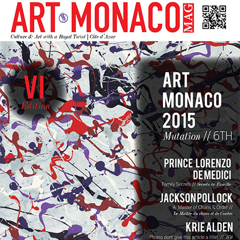 Buy Art Monaco Magazine 2015 – € 9.90
